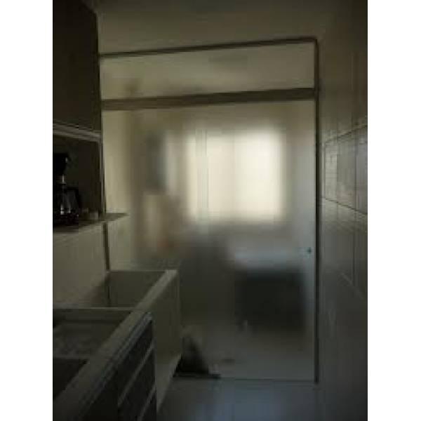 Adquirir Fechamento em Vidro Temperado no Jardim Santa Fé - Porta para Lavanderia de Vidro Temperado