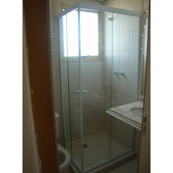 Box para Banheiro Canto no City América - Box para Banheiro SP