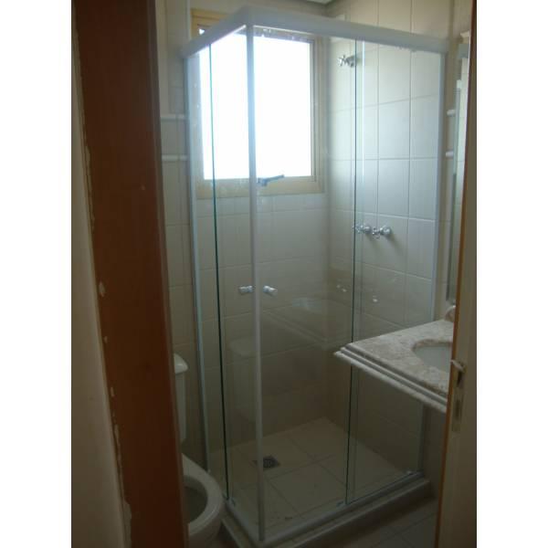 Box para Banheiro Canto no Sítio do Mandaqui - Box para Banheiro no ABC