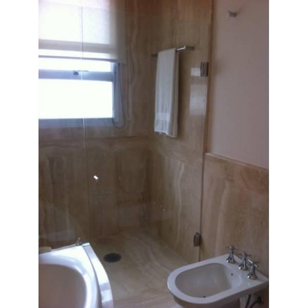 Box para Banheiro de Vidro Transparente na Vila Nilo - Preço de Box para Banheiro