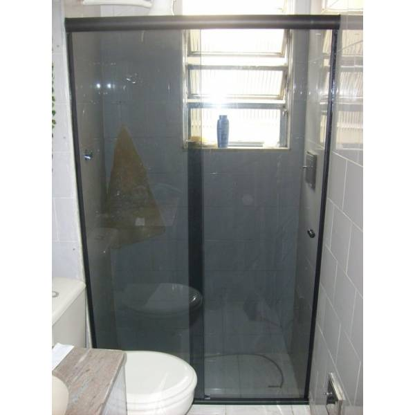 Box para Banheiro Escuro no Conjunto Butantã - Preço de Box para Banheiro