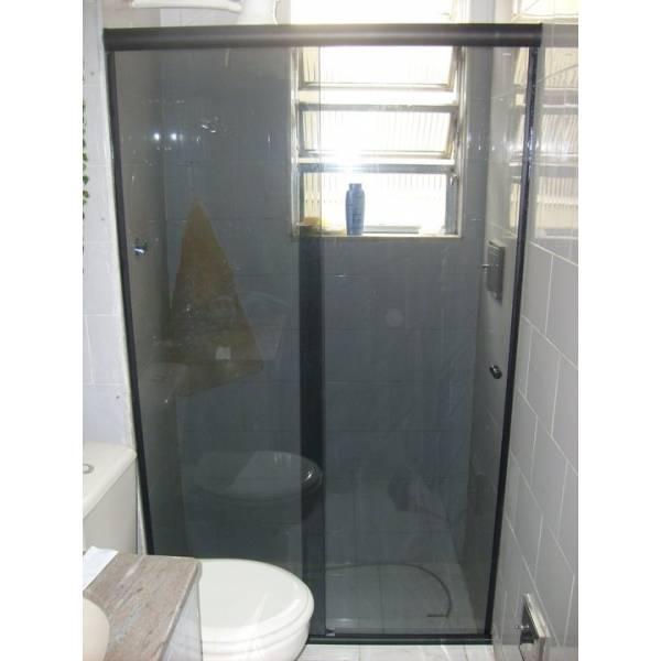 Box para Banheiro Escuro no Jardim Santo Antônio - Box para Banheiro SP