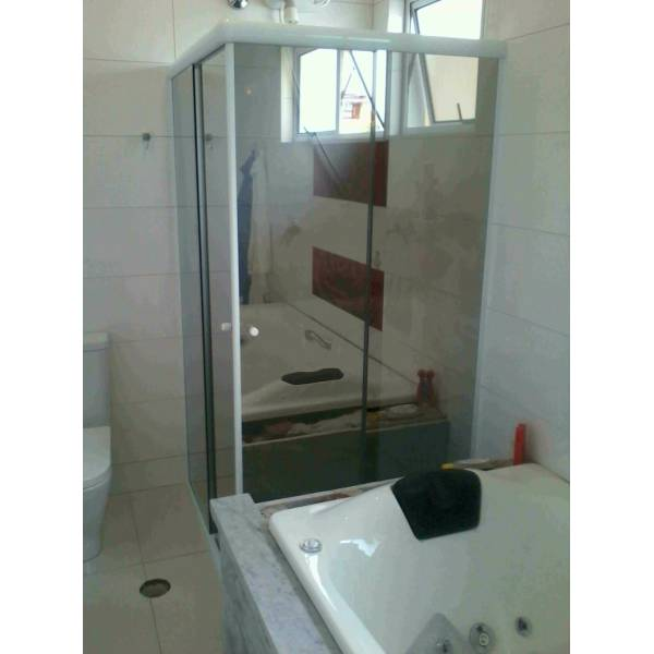 Box para Banheiro Espelhado na Vila Rica - Box para Banheiro Preço