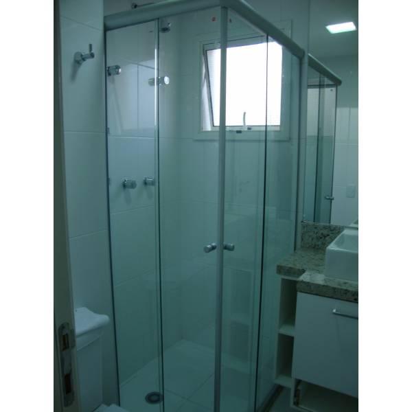 Box para Banheiro Vidro Fosco no Jardim das Palmas - Box para Banheiro no ABC