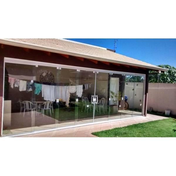 Cotação Fechamento em Vidro Temperado no Jardim Santa Teresinha - Porta para Lavanderia de Vidro
