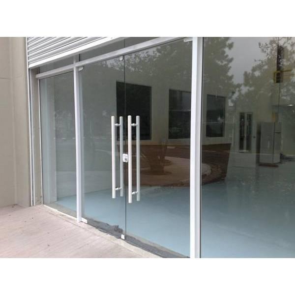 Fechamento em Vidro Temperado Valores no Jardim Uberlândia - Porta para Lavanderia de Vidro Temperado