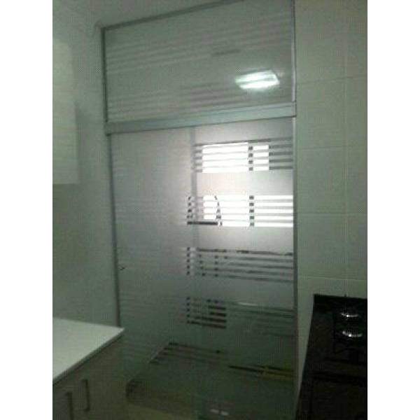 Preferência Porta para Lavanderia de Vidro Temperado - Decorglass DD02