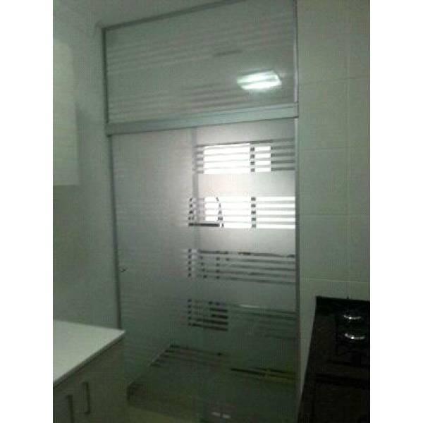 Fechamento Vidro Temperado Preço no Parque Rodrigues Alves - Porta para Lavanderia de Vidro