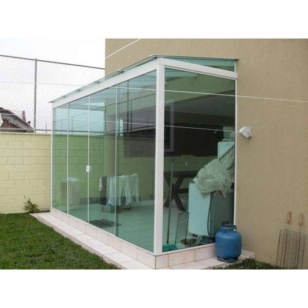 Fechamento Vidro Temperado Quanto Custa no Jardim Aladim - Fechar Lavanderia com Vidro Temperado
