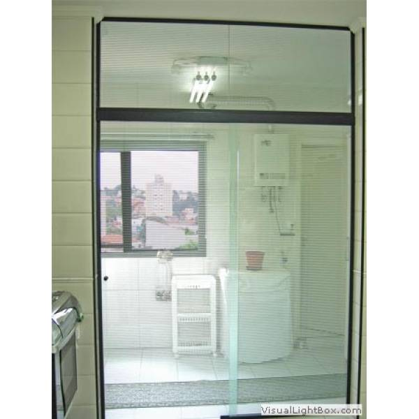 Fechamento Vidro Temperado Valores no Jardim do Carmo - Fechamento de Lavanderia com Vidro Temperado