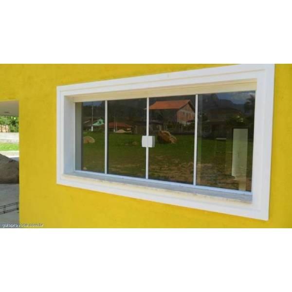 Janela de Vidro Temperado Vidraçaria no Jardim Guarau - Vidraçaria no ABC