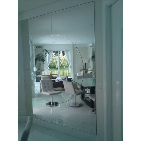 Loja de Espelhos Montagem no Sítio Pedra Branca - Loja de Espelhos em SP