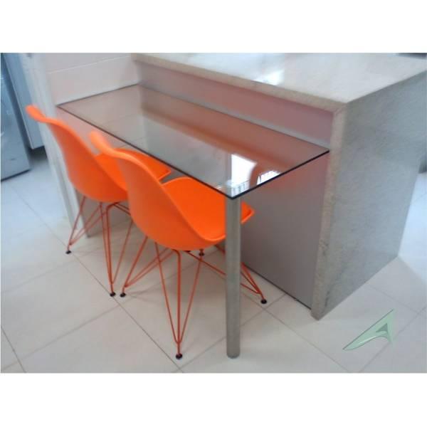 Mesa com Tampos de Vidro Preço no Jardim das Laranjeiras - Tampo de Vidro na Grande SP