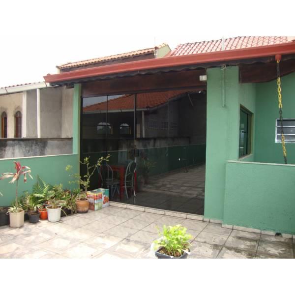 Porta Colorida em Vidraçaria na Vila Romano - Vidraçaria no ABC