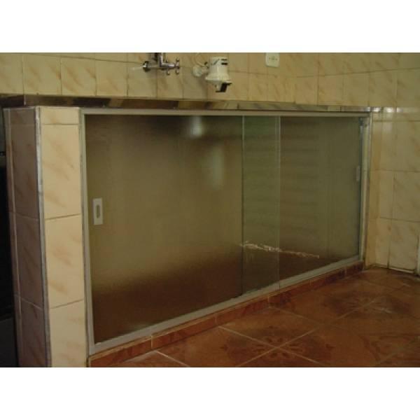 Quero Comprar Fechamento Vidro Temperado no Jardim Beatriz - Porta para Lavanderia de Vidro Temperado