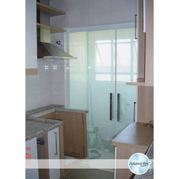 Quero Comprar Fechamentos de Vidro Temperado na Vila Fanton - Fechamento de Lavanderia com Vidro Temperado