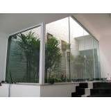 Fechamento em vidro temperado preço no Jardim Célia