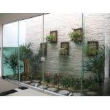 Fechamento em vidro temperado valor no Jardim Carombé