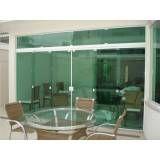 Orçamento de fechamento em vidro temperado no Parque Bristol
